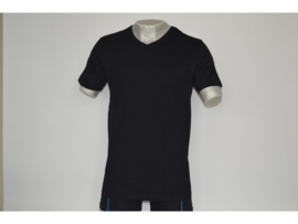 SALE! 6x Apollo heren T-shirt V-hals Zwart