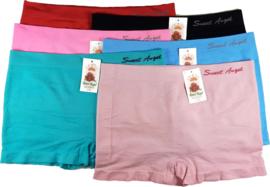 Dames Boxers Sweet Angel Hoog model 6-pack Color