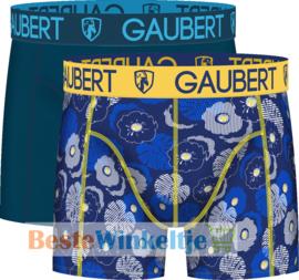 2x Gaubert Heren Boxers Blauw