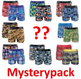 SALE! 6x J&C Mysterypack Herenboxer met leuke print