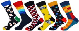 Fun sokken 6-Pack Dutch Pop Socks