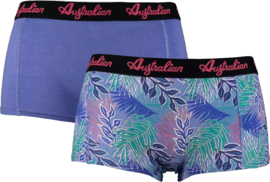 Australian Dames  Boxers Purple Flora