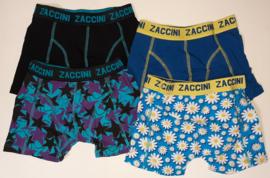 SALE! 4x Zaccini Jongens boxers