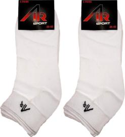 Sneakersokken Air Naft Wit 10-Pack