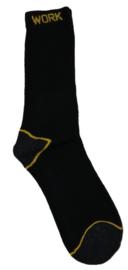 WORK katoenen werk sokken Zwart Naft