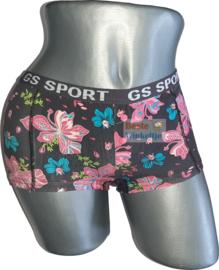 2x GS Sport Dames Print Zwart/Roze