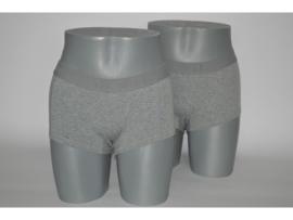 4x J&C underwear Damesboxer Grijs