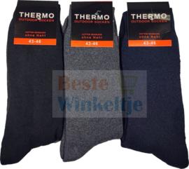 Thermo sokken Assorti naadloos Naft Outdoor