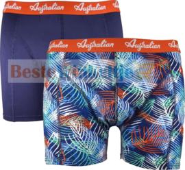 2x Australian Heren Boxers Seaplant