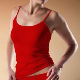 """Beeren Bodywear Dames Hemdje """"Elegance"""" Rood"""
