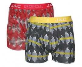 "J&C Herenboxer ""Grafiek"""