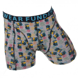 "Funderwear Boxershort ""Share This"" Zwart"