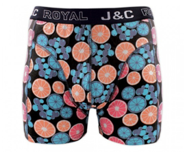 "J&C Herenboxer Citrus ""Peach&Lime"""