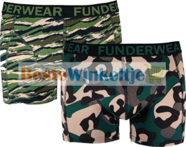 """Funderwear Heren Boxer """"Army"""""""