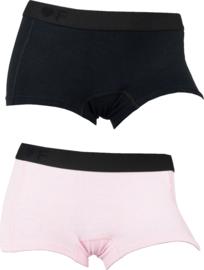 2x Funderwear damesboxers Pink-Lichtroze 72004