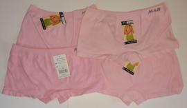 SALE! 4x M&B meisjes boxers Roze