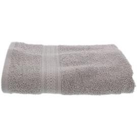 3x Handdoek 50x100 Lichtgrijs