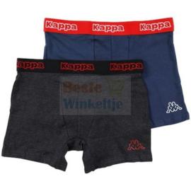 "2x Kappa Heren Boxers ""Navy/Antracite"""