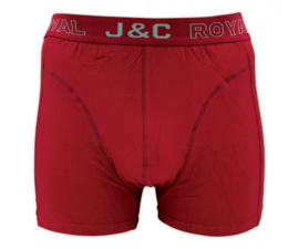 SALE! J&C Herenboxer Bordeaux-Rood