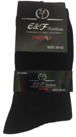 Thermo sokken Zwart Outdoor E&F
