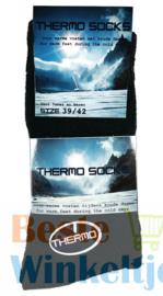Thermo sokken Zwart Outdoor