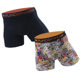"Funderwear Heren Boxers ""Good Trip"""