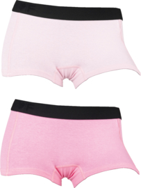 2x Damesboxers Pink-Roze 72004