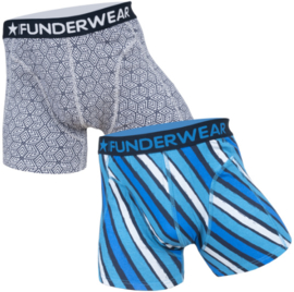 "Funderwear Heren Boxers ""Geometric Lines"""