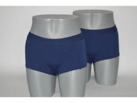 J&C underwear Damesboxer Blauw