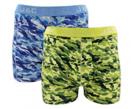 "J&C Herenboxer ""Camouflage"""