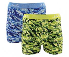 "J&C Herenboxer ""Camouflage"""