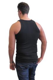 3x Naft Heren Hemd Zwart