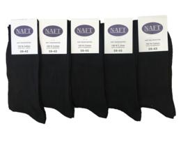 10x Naft Nette Heren Sokken Zwart