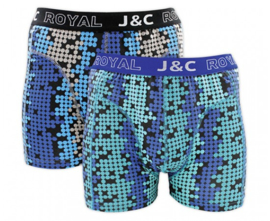 "J&C Herenboxer ""Dots & Black"""