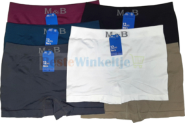 6x M&B naadloze Herenboxers color Smooth 3152-1