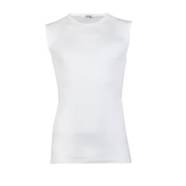 2x Beeren Bodywear Mouwloos Shirt Wit M3000