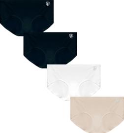 Gaubert Dames Slips Naadloos 4-Pack invisible
