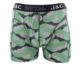"J&C Herenboxer ""Black&Mint"""