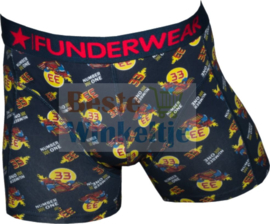 """Funderwear Heren Boxer """"Number 33"""""""