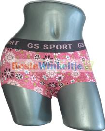 2x GS Sport Dames Print Roze/Antracite