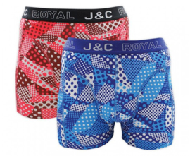 "J&C Herenboxer ""Dots & Shapes"""