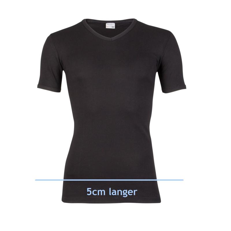 2x Beeren Bodywear T-shirt extra Lang Zwart Maat XXL M3000
