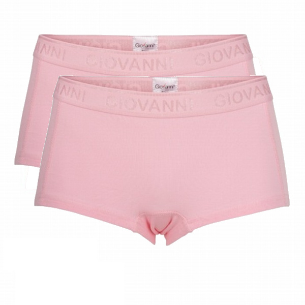 Giovanni Dames Boxers Roze 2-Pack