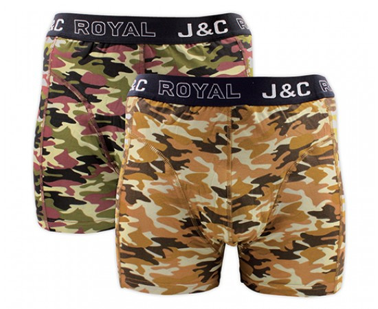 "J&C Herenboxer ""Camouflage-Army"""