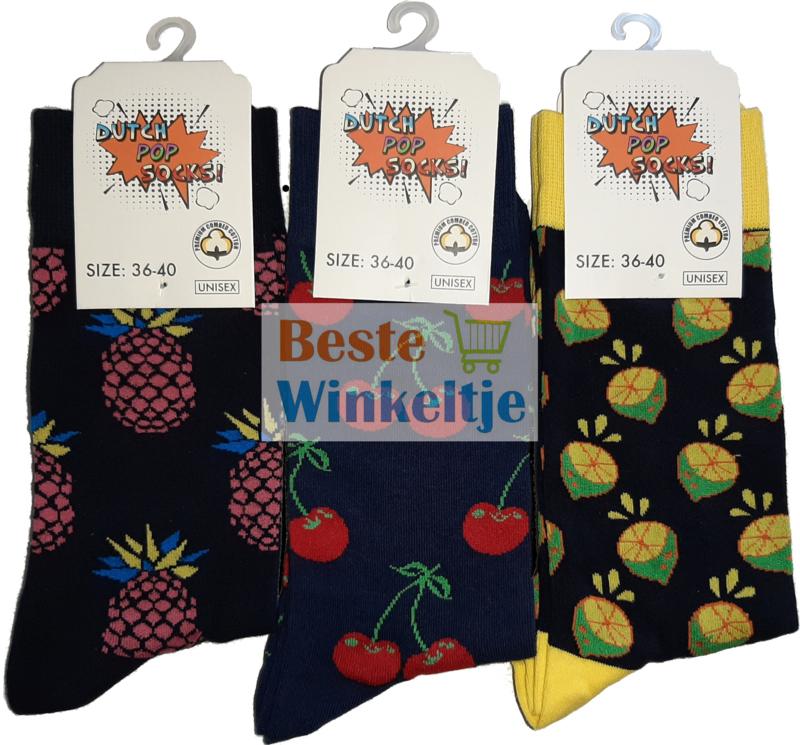 """6x DPS Sokken """"Fruity Pack"""""""