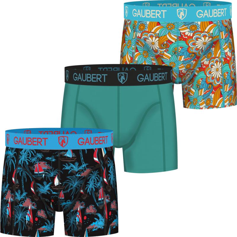3x Gaubert Heren Boxers Bamboe