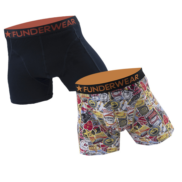 "Funderwear Heren Boxers ""Good Trip"""