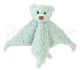 Bear Boogy knuffeldoekje mint