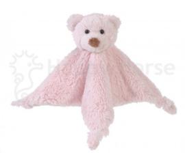 Bear Boogy knuffeldoekje roze