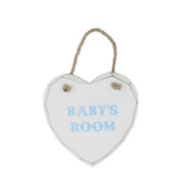 Hanger baby's room blauw